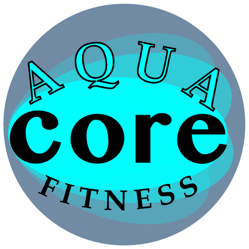 Circle designed logo, with name of new product line, AquaCore.